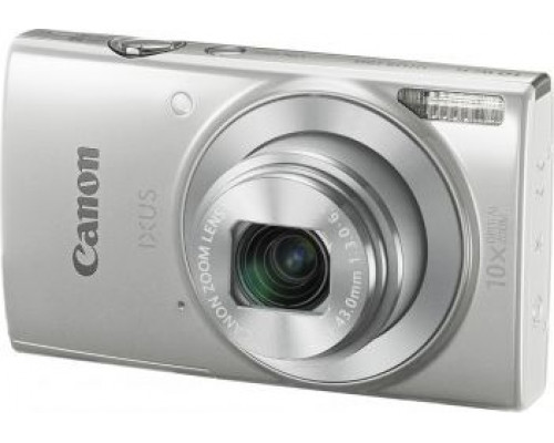 Canon Ixus 185 Digital Camera, Silver (1806C001AA)