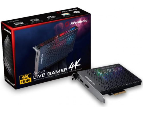 AVerMedia Live Gamer GC573 PCI-E, 4K