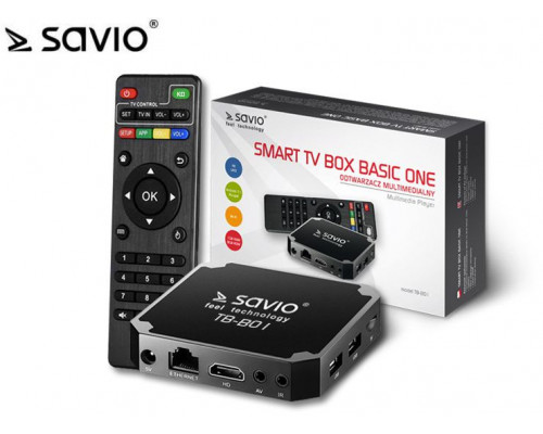 Savio Smart TV Box Basic One TB-B01