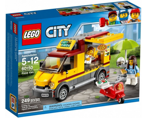 LEGO CITY Foodtruck with pizza (60150)
