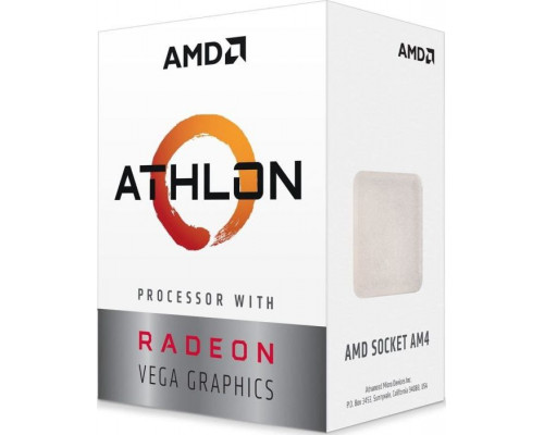 AMD Athlon 220GE, 3.4GHz, 4MB, BOX