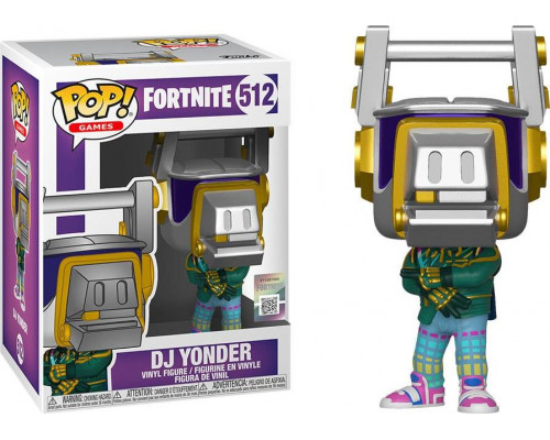 Funko Pop Fortnite S3: DJ Yonder