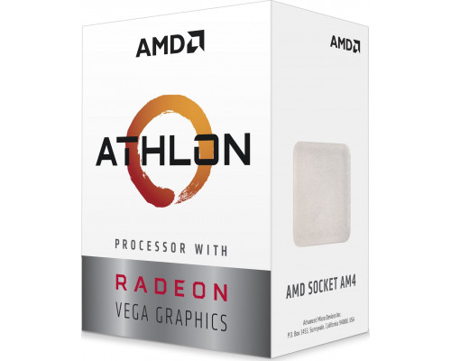 AMD Athlon 3000G, 3.5GHz, 4 MB, BOX processor (YD3000C6FHBOX)