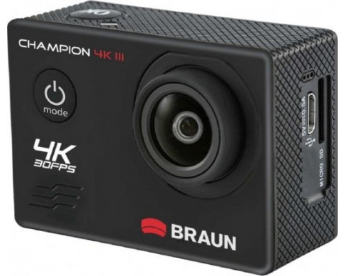 Braun Phototechnik Camera Champion 4K sports camera