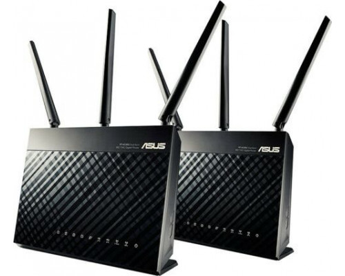 Asus AiMesh AC1900 Router (RT-AC67U 2PACK)