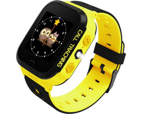 ART Phone Go Smartwatch Black and Yellow (AW-K02Y)
