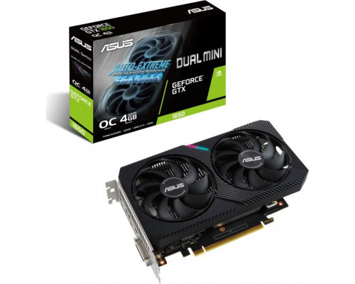 Asus Dual GeForce GTX 1650 D6 Mini OC 4GB GDDR6 (DUAL-GTX1650-O4GD6-MINI)