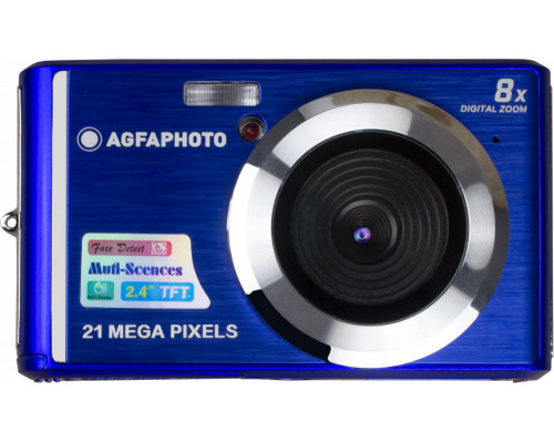 Agfaphoto Dc5200 Digital Camera 21MP Hd 720p / Blue