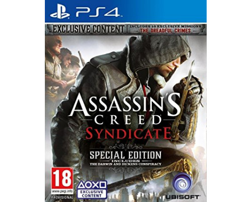 PS4 Assassin's Creed: Syndicate Special Edition