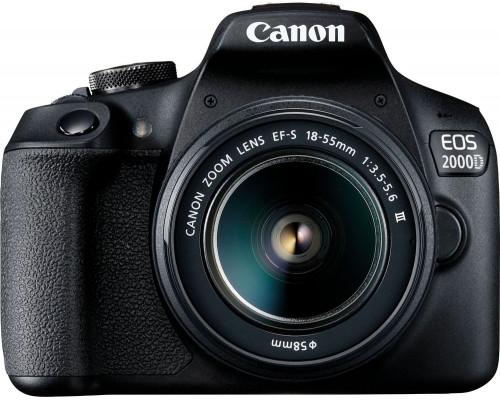 Canon EOS 2000D digital camera zrcadlovka + 18-55 DC