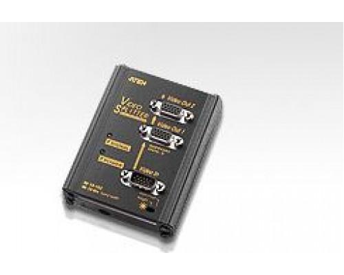 Aten Splitter 2x VGA 250MHz (VS102-AT-G)