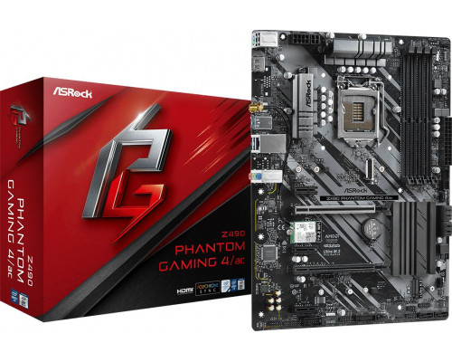 ASRock Z490 PHANTOM GAMING 4 / AC (90-MXBD20-A0UAYZ)