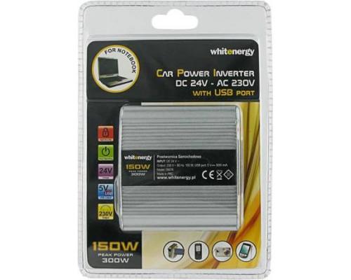 Whitenergy  AC/DC 150W 24V/230V  USB