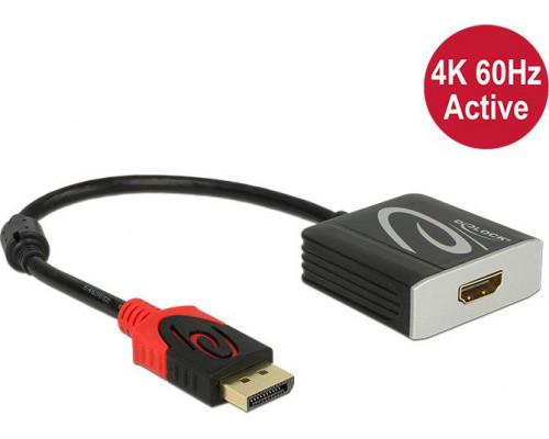 Delock DisplayPort - HDMI 0.2m  (62734)