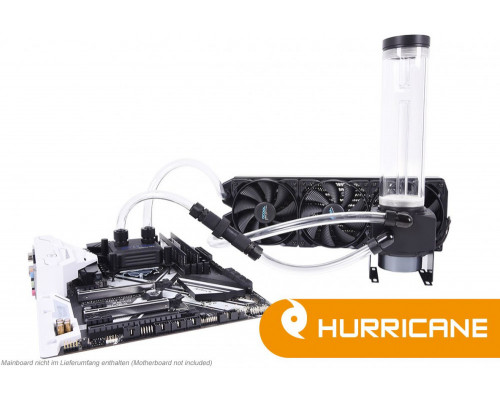 Alphacool Zestaw Ice Storm Hurricane Copper 45 3x120mm (1014160)