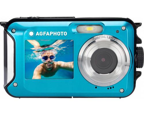 AgfaPhoto Digital Camera Underwater 24MP Video Hd 3m Agfa Photo / Blue