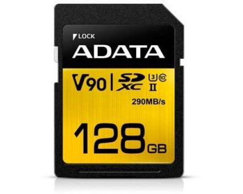ADATA Premier One SDXC 128 GB Class 10 V90 Card (ASDX128GUII3CL10-C)