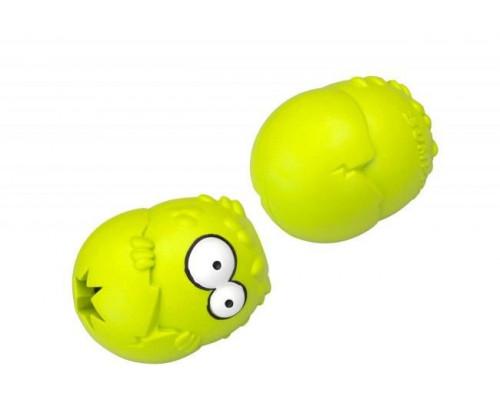 Suņu rotaļlieta EBI Coockoo Bumpies Toy Green/Apple L 13-30kg 11x8.7x7.5cm