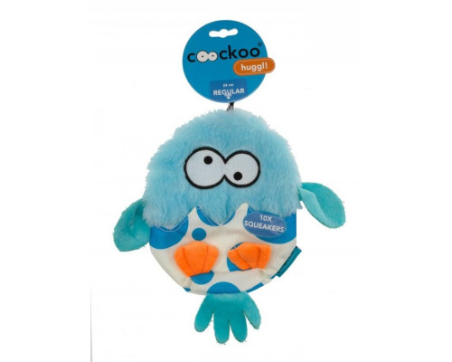 Suņu rotaļlieta EBI Coockoo Huggl Toy Squeaky Blue 24x18cm