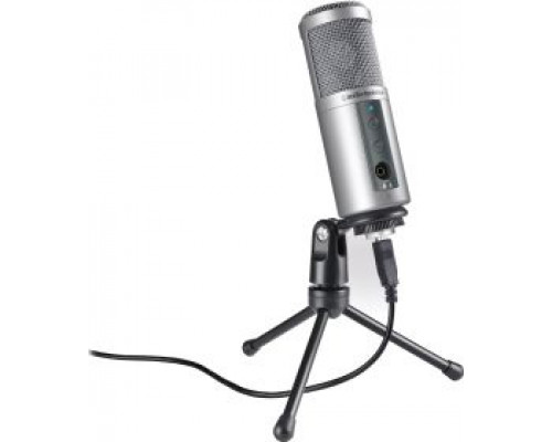 Audio-Technica AT2500 USB Microphone Capacitor Microphone - black