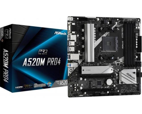 ASRock A520M Pro4